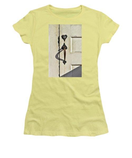 Old Door Knob 3 Women's T-Shirt (Athletic Fit)