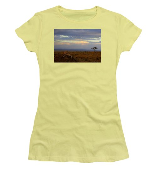 Old Earth Women's T-Shirt (Athletic Fit)