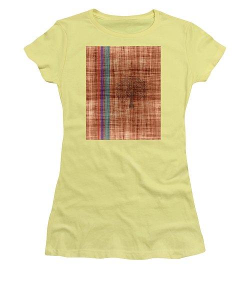Old Fabric Women's T-Shirt (Junior Cut) by Thomas M Pikolin