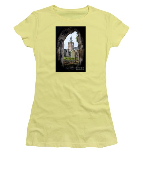 Old High St. Stephen's Church Women's T-Shirt (Junior Cut) by Amy Fearn