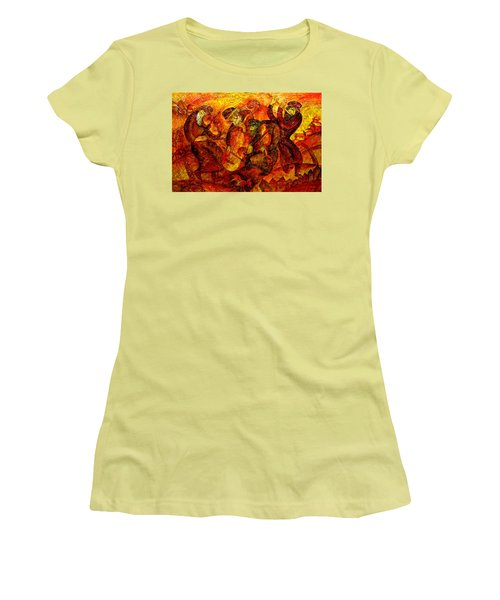 Old Klezmer Band Women's T-Shirt (Athletic Fit)
