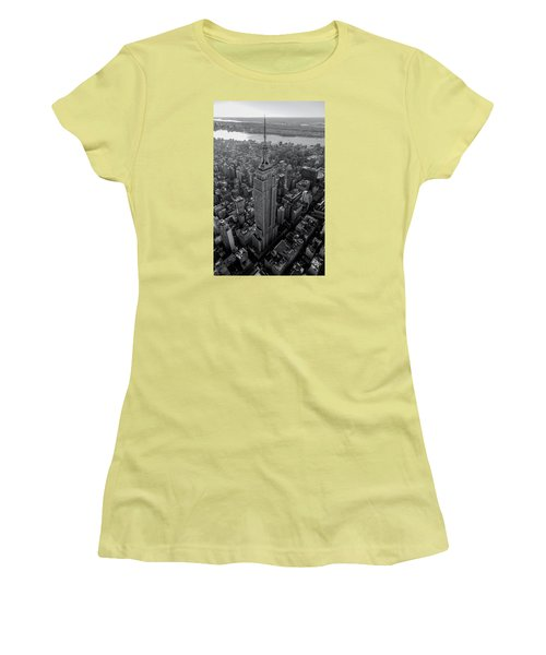 Old New New York  Women's T-Shirt (Junior Cut) by Anthony Fields