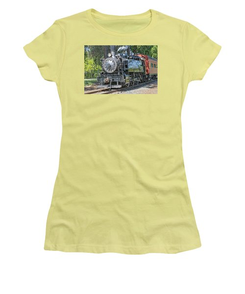 Old Number 10 Women's T-Shirt (Junior Cut) by Jim Thompson
