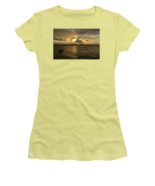 Old San Juan 3772 Women's T-Shirt (Junior Cut) by Ricardo J Ruiz de Porras