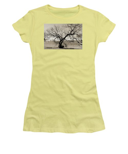 Old Texas Frontier  Women's T-Shirt (Athletic Fit)