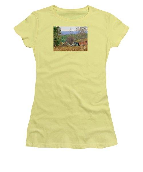 Old Warriors Women's T-Shirt (Junior Cut) by Christian Mattison
