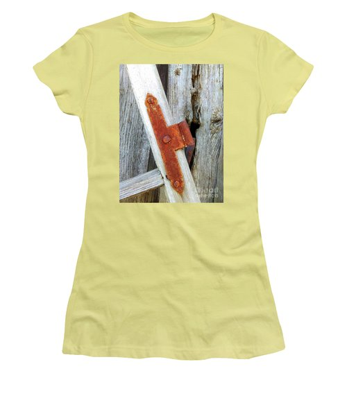 Old Window Women's T-Shirt (Athletic Fit)