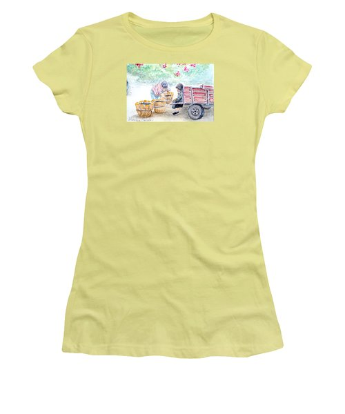 Olive Pickers Women's T-Shirt (Athletic Fit)