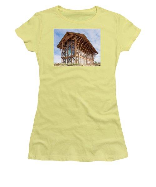 Omaha Holy Family Shrine 3 Women's T-Shirt (Athletic Fit)