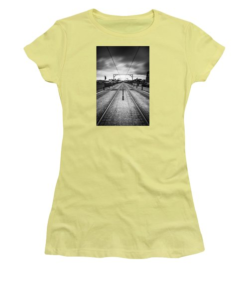 On A Gloomy Day Women's T-Shirt (Athletic Fit)