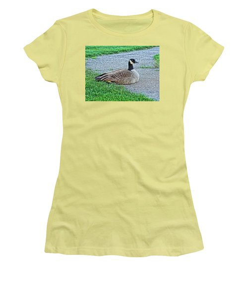 On Guard Women's T-Shirt (Athletic Fit)