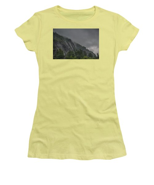 On Higher Ground Women's T-Shirt (Athletic Fit)