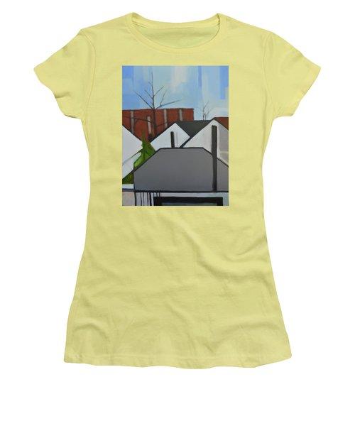 On Palisade Women's T-Shirt (Junior Cut) by Ron Erickson