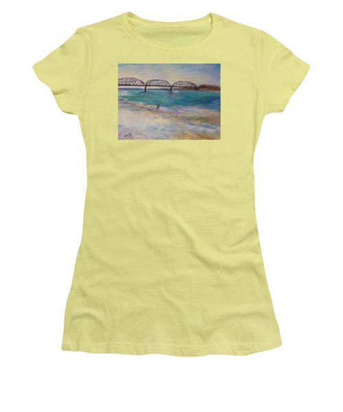 On The Bank Women's T-Shirt (Athletic Fit)
