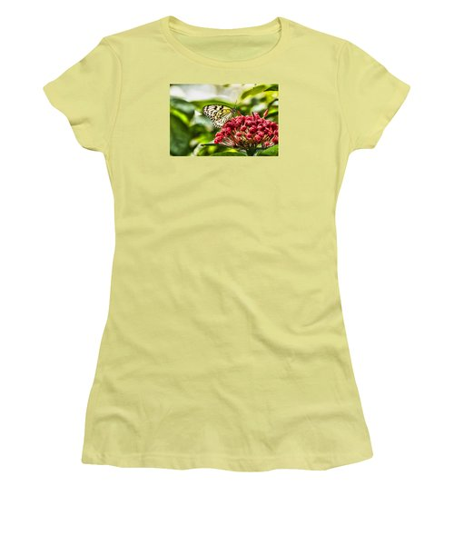 On The Color Women's T-Shirt (Junior Cut) by Steven Parker