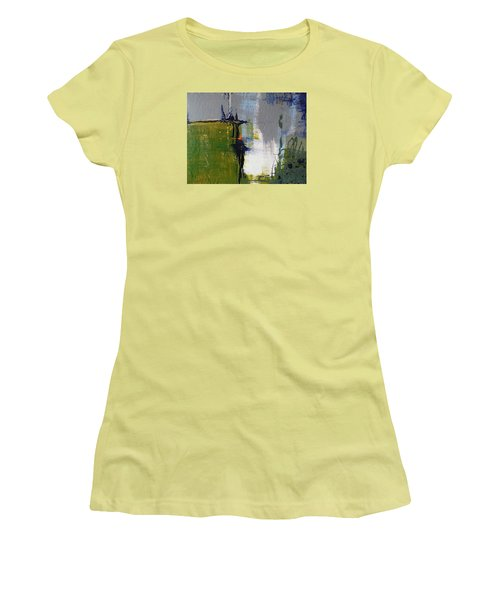 On The Edge Women's T-Shirt (Junior Cut) by Becky Chappell