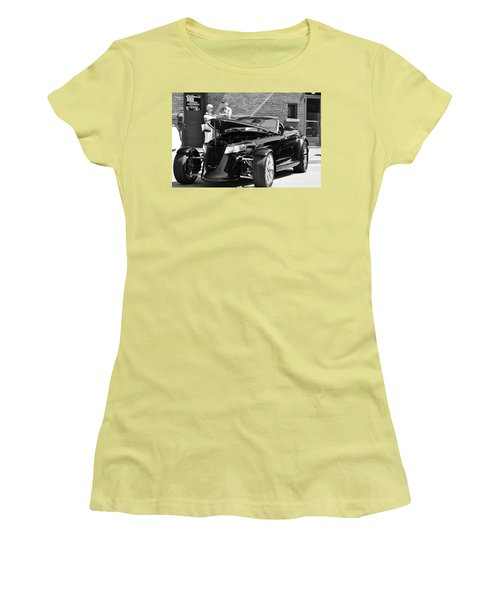 Women's T-Shirt (Junior Cut) featuring the photograph On The Prowl by Al Fritz