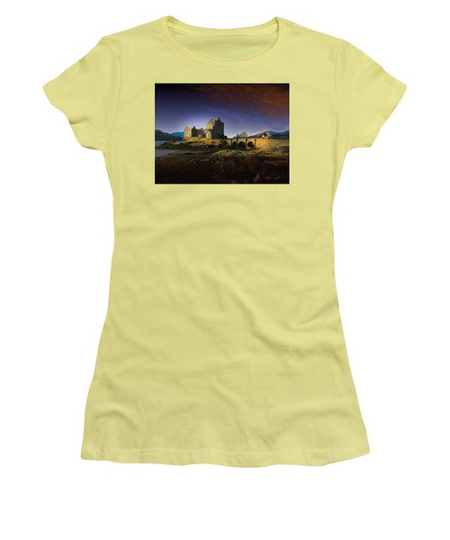On The Way Home Women's T-Shirt (Junior Cut) by J Griff Griffin