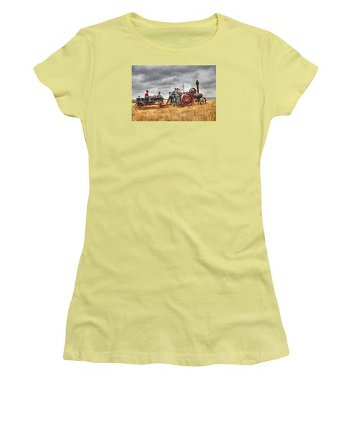On The Way Women's T-Shirt (Junior Cut) by Shelly Gunderson