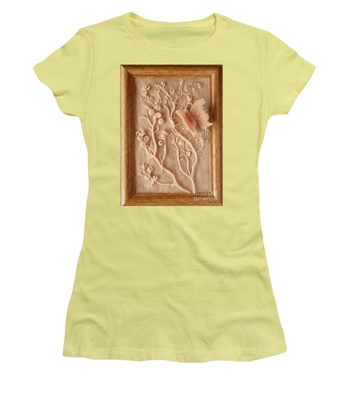 On The Way To Bronze - Alfalfa And Anglewing Women's T-Shirt (Athletic Fit)