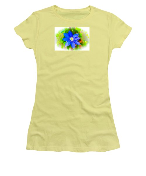 One Bloom - Pla226 Women's T-Shirt (Junior Cut) by G L Sarti