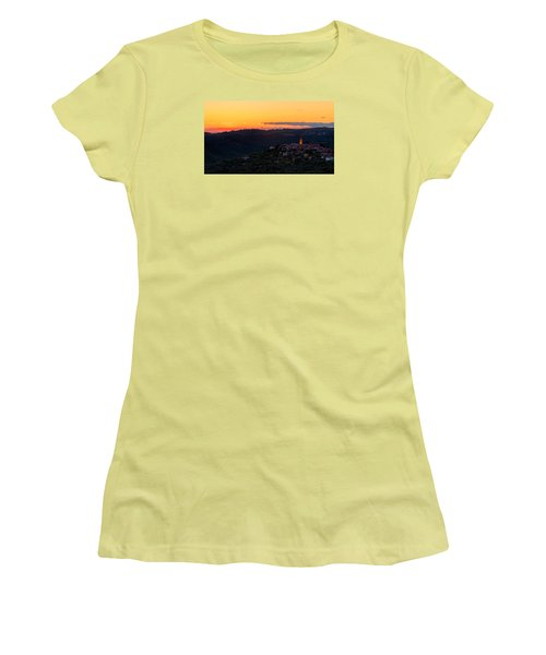 One Evening In September Women's T-Shirt (Junior Cut) by Robert Krajnc