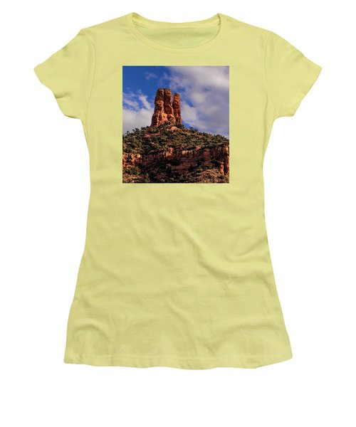 One Finger Shy Women's T-Shirt (Athletic Fit)