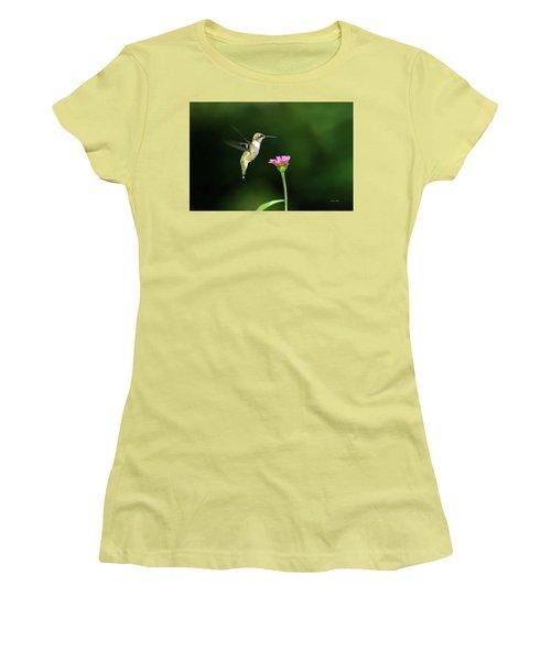 One Hummingbird Women's T-Shirt (Athletic Fit)