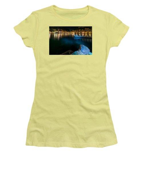 One Night In Portofino - Una Notte A Portofino Women's T-Shirt (Athletic Fit)