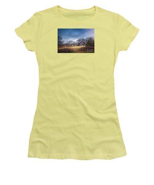 Open Gate Women's T-Shirt (Athletic Fit)