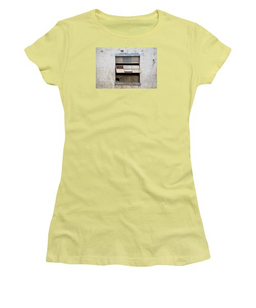 Opened Window Women's T-Shirt (Athletic Fit)