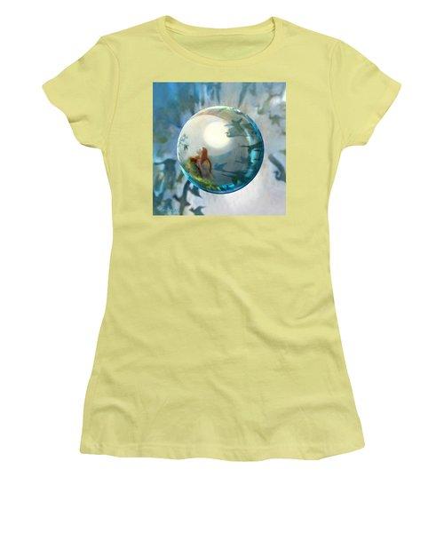 Orbital Flight Women's T-Shirt (Athletic Fit)