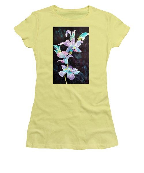 Orchids Alive Women's T-Shirt (Athletic Fit)