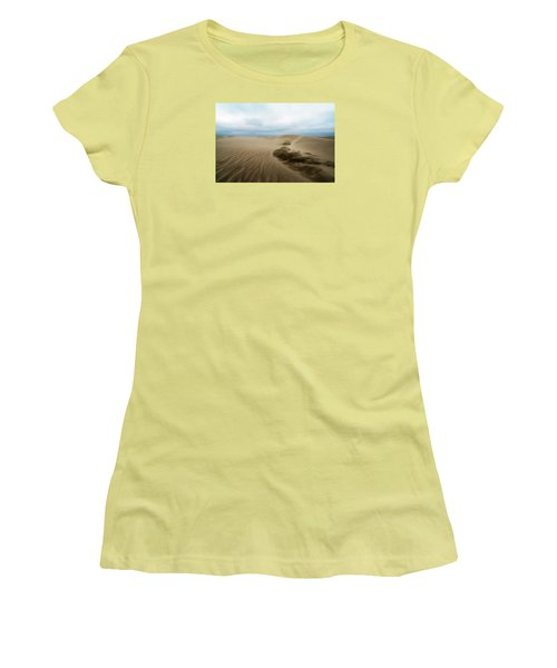 Oregon Dune Wasteland 1 Women's T-Shirt (Athletic Fit)