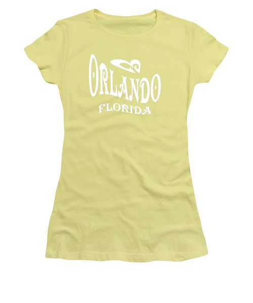 Orlando Florida Design Women's T-Shirt (Athletic Fit)