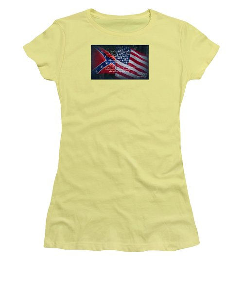 Our Father Women's T-Shirt (Athletic Fit)