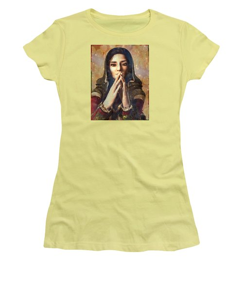 Our Lady Of Guadalupe Women's T-Shirt (Athletic Fit)