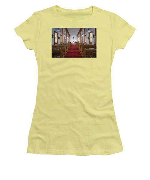 Our Lady Of Mount Carmel Women's T-Shirt (Junior Cut) by Andy Crawford