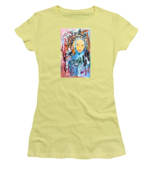Our Lady Of The Left Eye Women's T-Shirt (Athletic Fit)