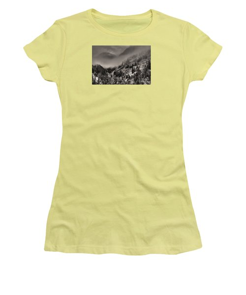 Ouray In Chinese Brush IIi Women's T-Shirt (Athletic Fit)