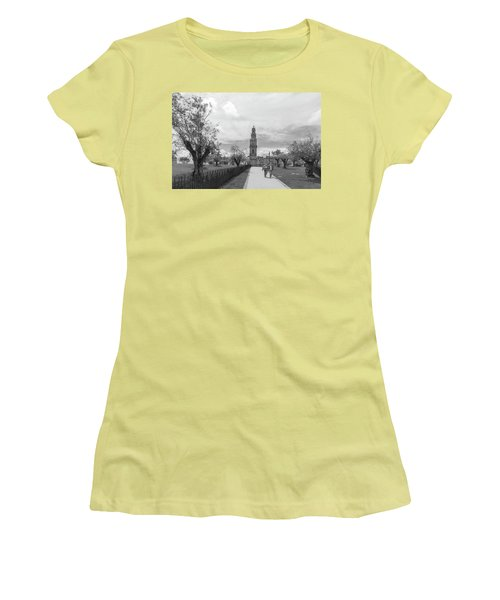 Out For A Walk Women's T-Shirt (Athletic Fit)