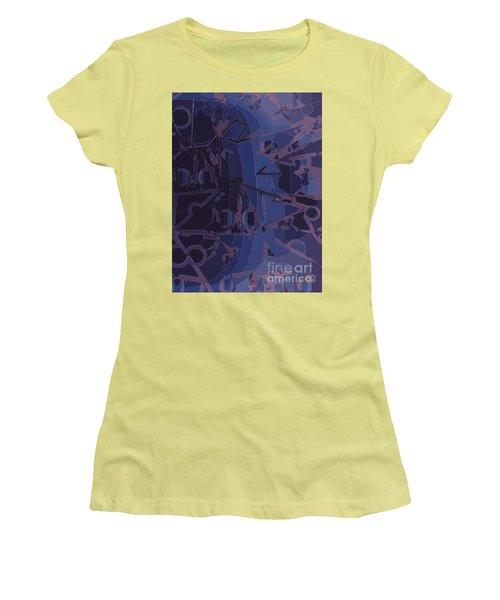 Touch Away Women's T-Shirt (Junior Cut) by Moustafa Al Hatter