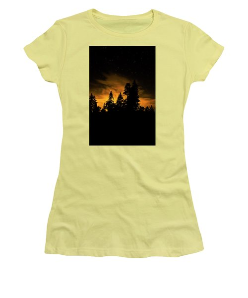 Outside Of Town Women's T-Shirt (Athletic Fit)