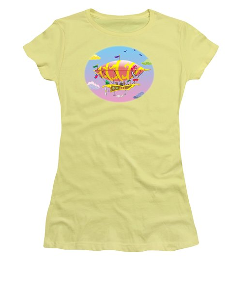 Dreamship II Women's T-Shirt (Athletic Fit)