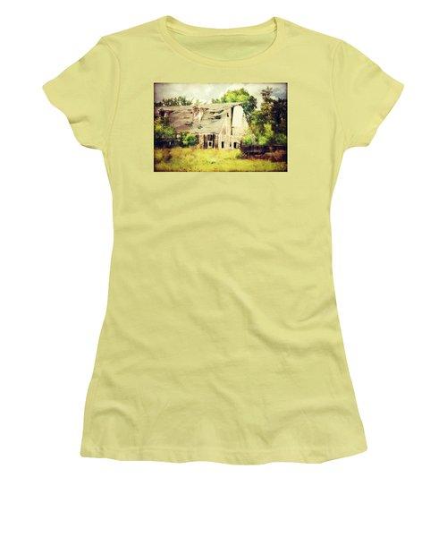 Women's T-Shirt (Junior Cut) featuring the photograph Over Grown by Julie Hamilton