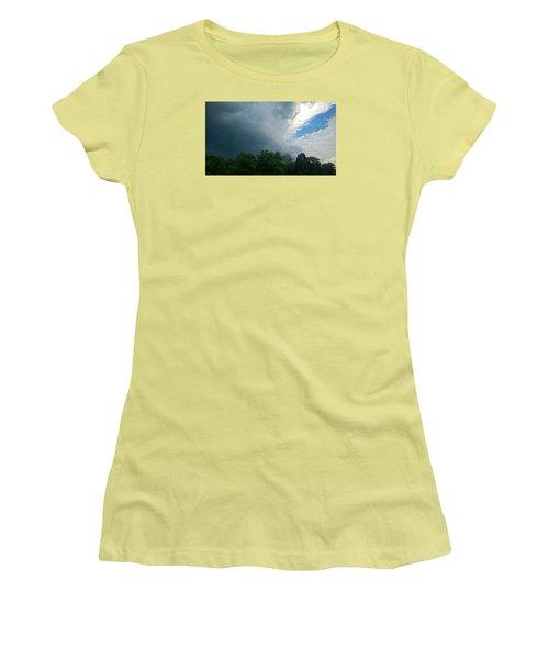 Overcome Women's T-Shirt (Junior Cut) by Carlee Ojeda