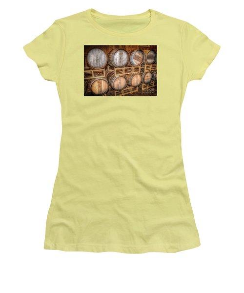 Owl's Eye Winery Women's T-Shirt (Junior Cut) by Marion Johnson