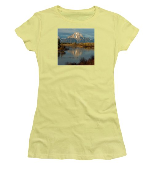 Oxbow Bend Women's T-Shirt (Athletic Fit)