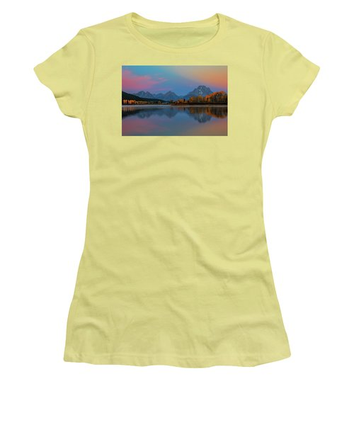 Oxbows Reflections Women's T-Shirt (Athletic Fit)