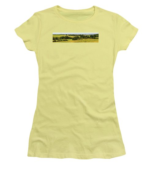 Oxford Spires And Countrysidepanorama Women's T-Shirt (Athletic Fit)